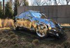 Джордан Гриска: полноразмерная модель автомобиля Mercedes-Benz S550