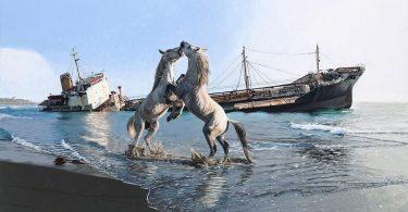 Поэтическая хроника катастроф: гиперреалистичные картины Джоша Кейса
