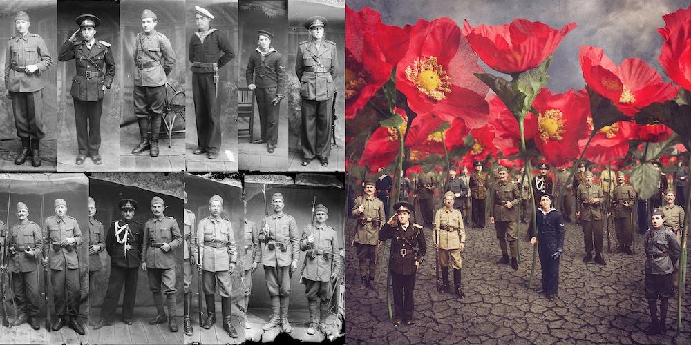 Старые фотографии в сюрреалистических интерпретациях художницы Джейн Лонг