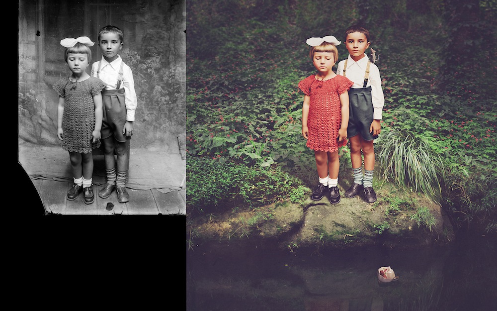Исторические фотографии в сюрреалистических интерпретациях художницы Джейн Лонг