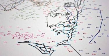 Креативная карта-рисунок
