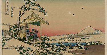 Библиотека Конгресса США: оцифрованные рисунки японских мастеров