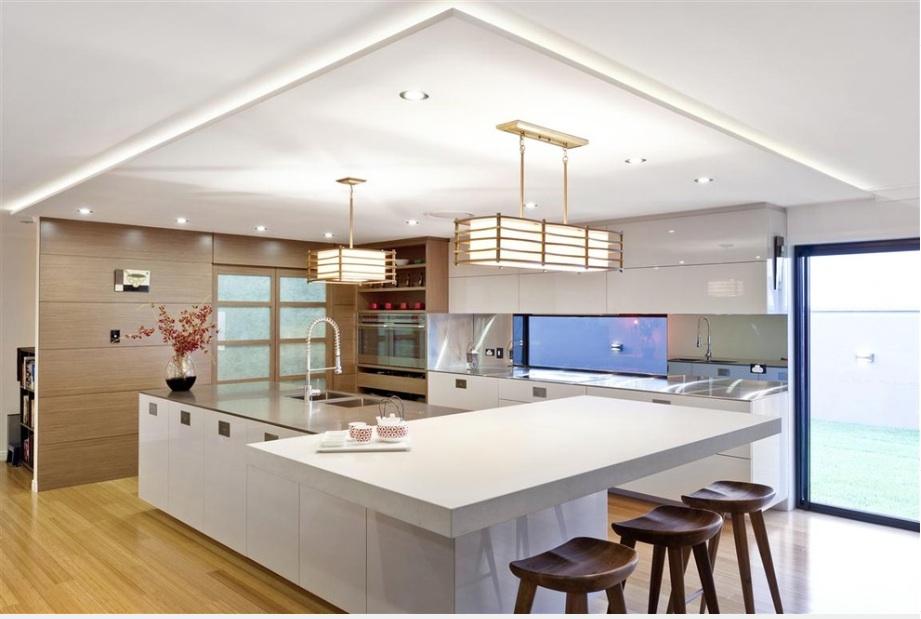 Оформление интерьера кухни в японском стиле