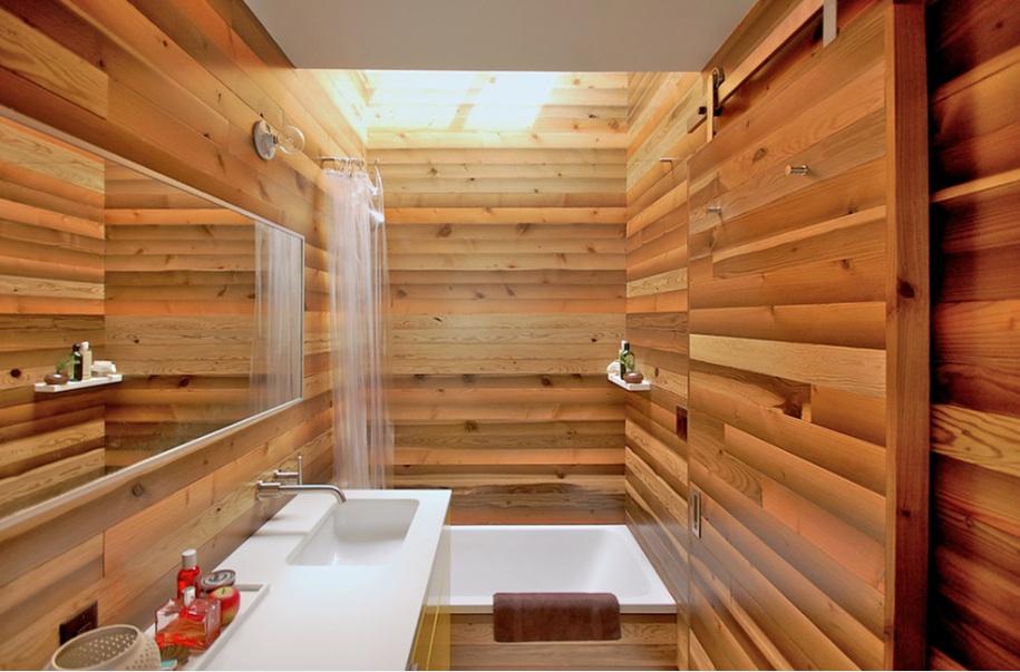 Оформление интерьера ванной в японском стиле