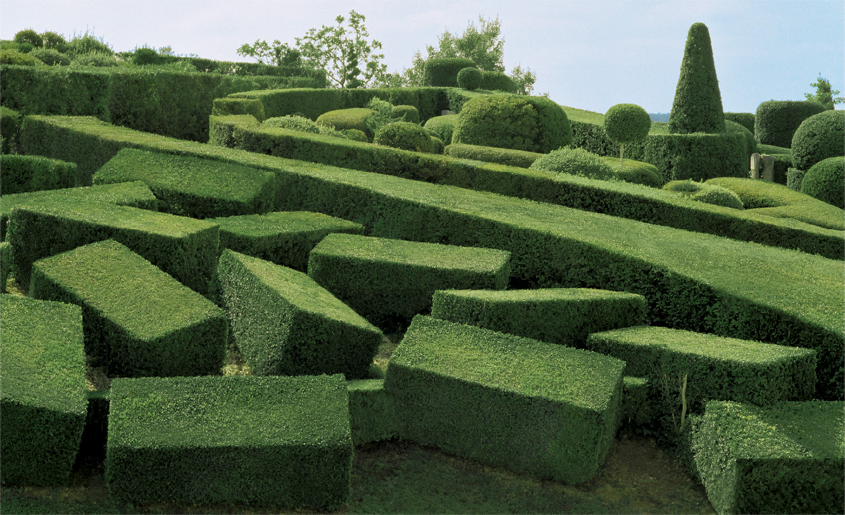 Филипп Жаррижон: в фокусе камеры фантастический топиарий сада Маркессак