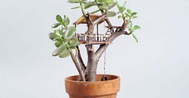 Домики на деревьях от Джедедии Корвина Вольца