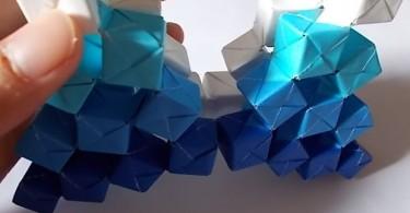 Кинетическое оригами от Джо Накашима