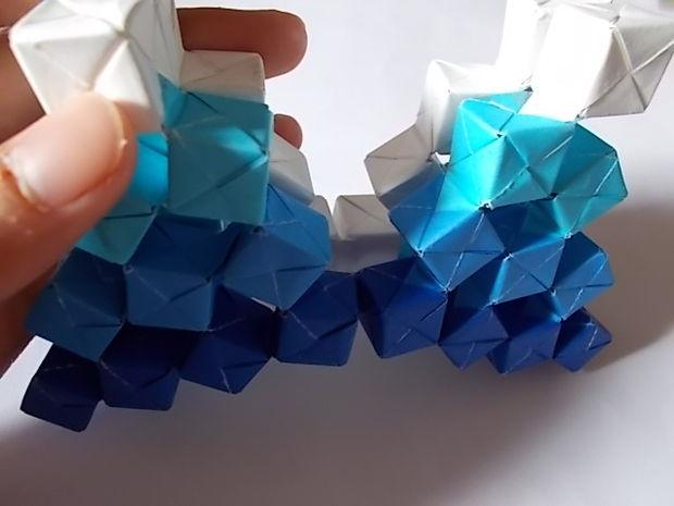 Джо Накашима: кинетическое оригами своими руками