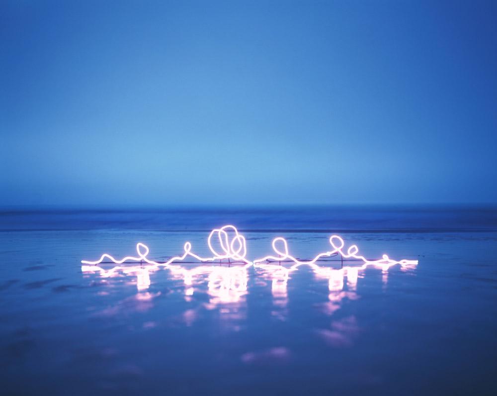 Джанг Ли: поэтические световые инсталляции в фотографиях из серии «Ничего больше»
