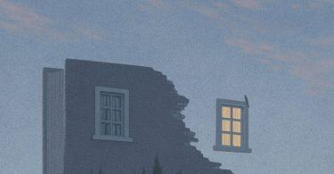 Книги о книгах: сюрреалистические иллюстрации из серии Promenade от Джанго Ли