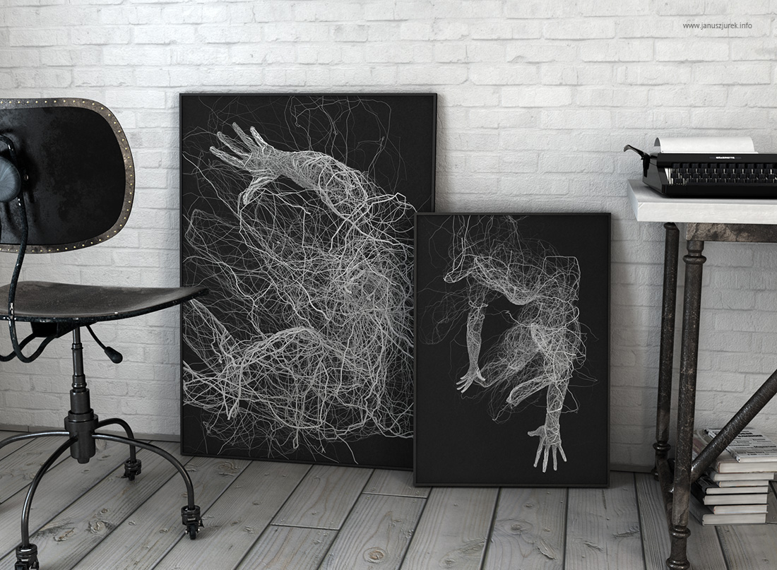 Цифровое искусство Януша Юрека: экспериментальные графические иллюстрации