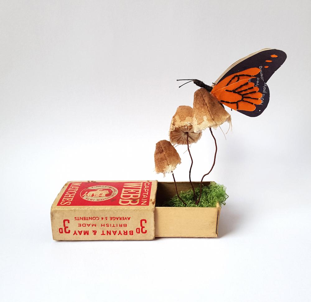 Кейт Като: очаровательные скульптуры из переработанной бумаги в коллекции «Kasasagi»