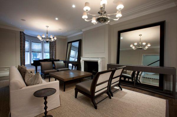 Минимум мебели в гостиной