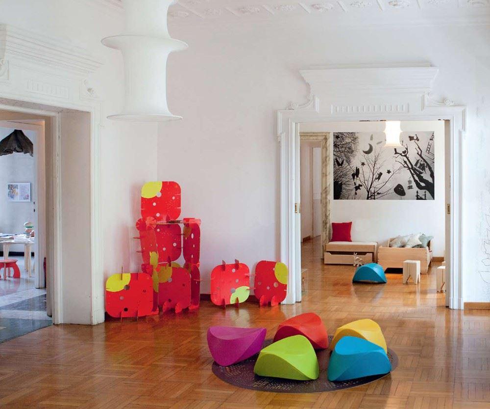 Уникальный интерьер детской комнаты