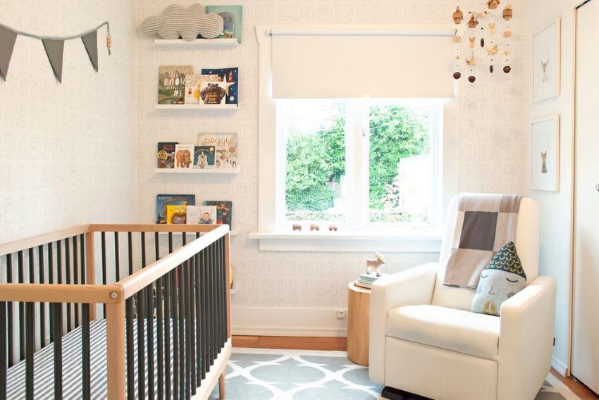 Чудесный интерьер детской комнаты