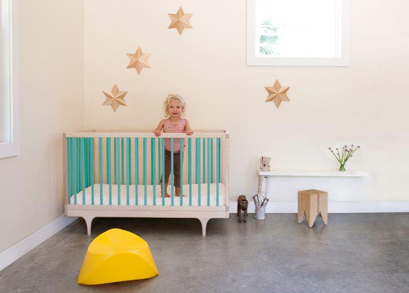Восхитительный интерьер детской комнаты