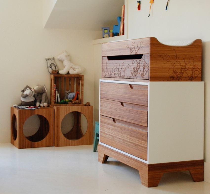 Очаровательный интерьер детской комнаты
