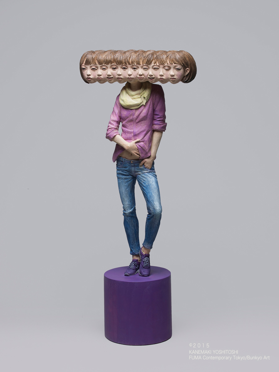 Йошитоши Канемаки: сюрреалистические фигуративные скульптуры