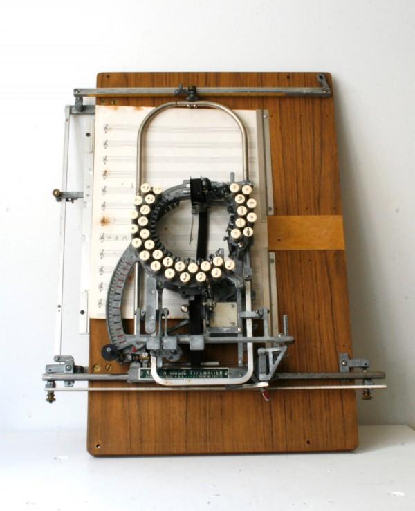 Необычная печатная машинка