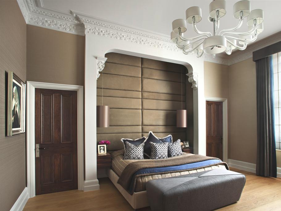 Прелестные шторы в дизайне интерьера помещения