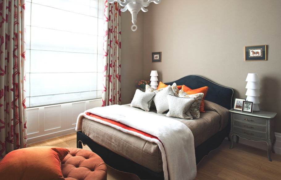 Первоклассные шторы в дизайне интерьера помещения