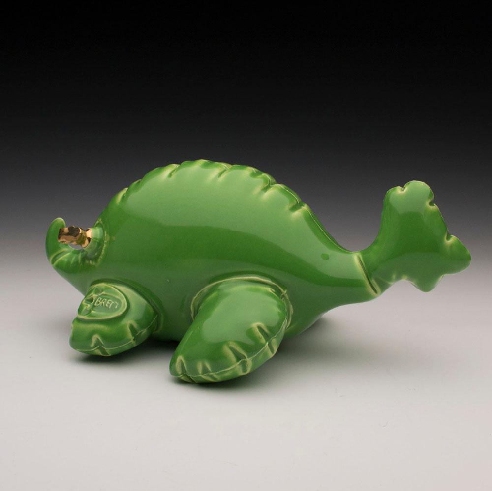 Керамические статуэтки динозавров от Бретта Керна