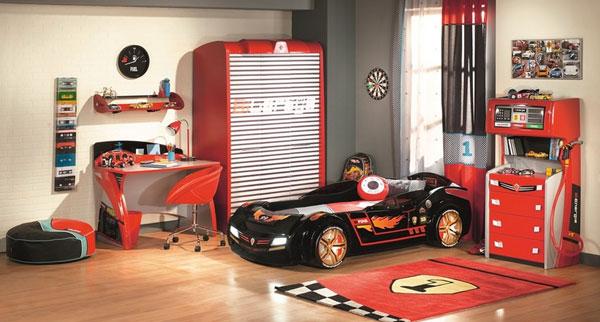 Автомобильная тема в детской