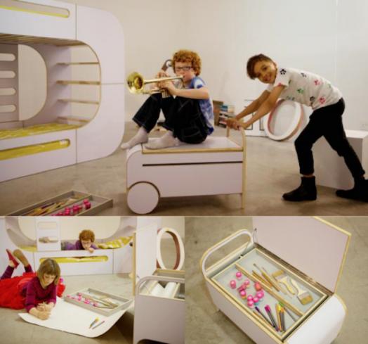 Креативная детская мебель