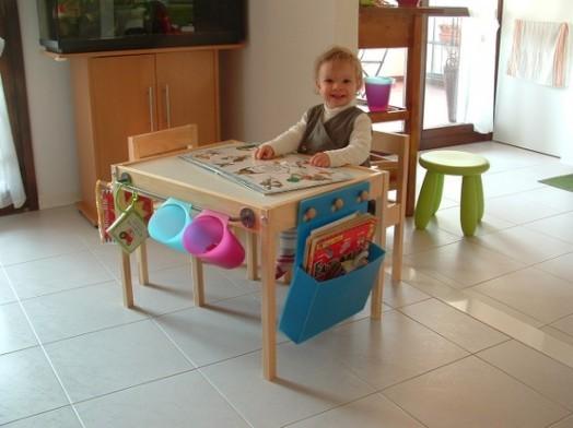 Оригинальный детский столик от IKEA