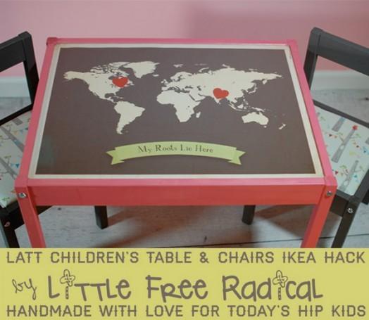 Дивный детский столик от IKEA