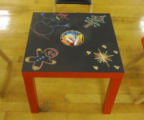 Чудесный детский столик от IKEA
