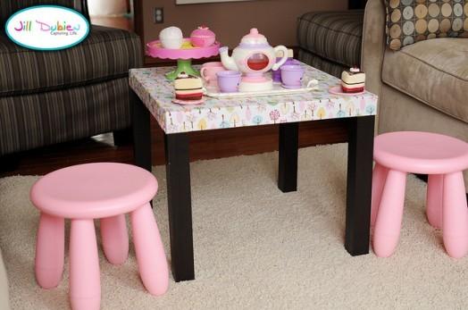 Восхитительный детский столик от IKEA