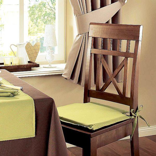 Как сшить подушки для кухонных стульев