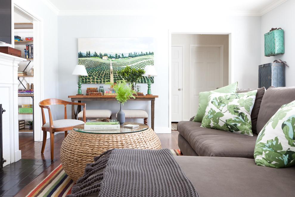 Классический американский стиль в интерьере дома в Лос-Анджелесе