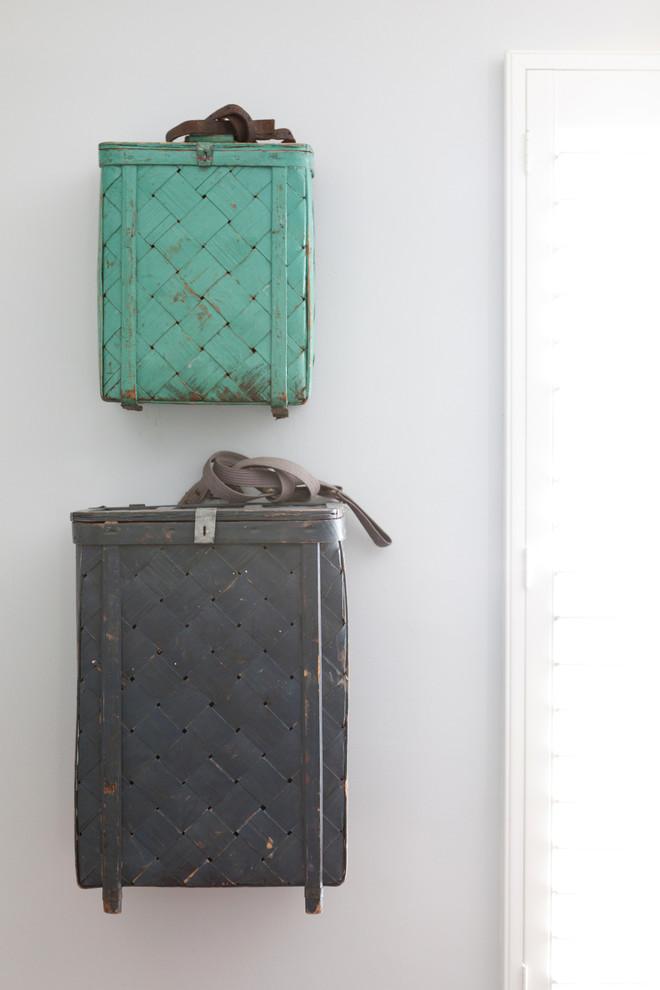 Классический американский стиль в интерьере дома в Лос-Анджелесе - необычная деталь интерьера