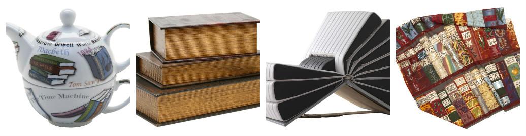 Украшения интерьера с применением книг