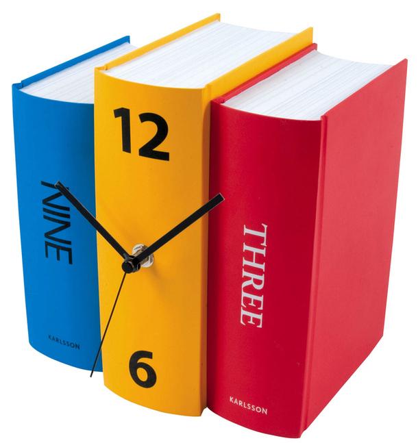 Часы в виде книг, Karlsson