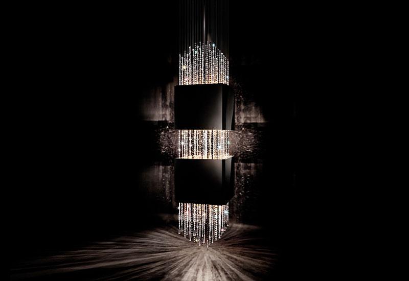 Дизайнерская люстра от Ленни Кравица
