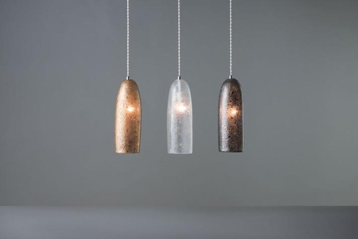 Яркие светильники из коллекции Tree Frost от Mikiya Kobayashi and Kohei Glass Studio