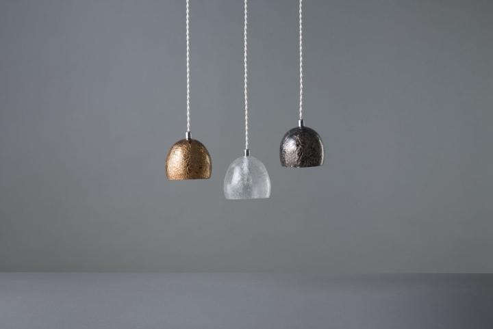 Подвесные светильники из коллекции Tree Frost от Mikiya Kobayashi and Kohei Glass Studio