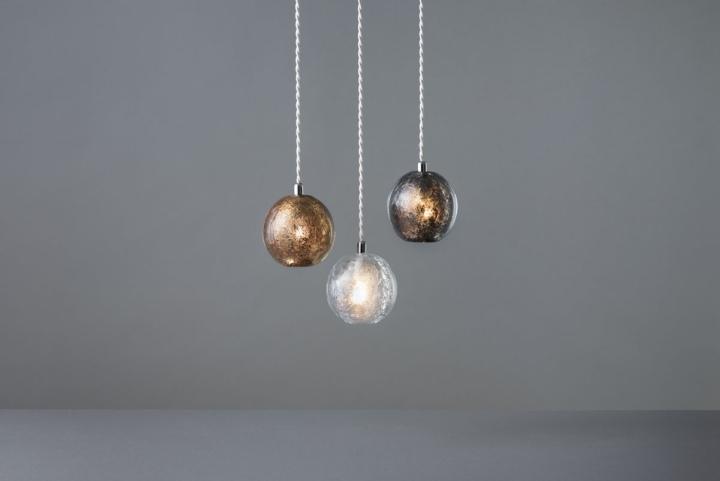 Красивые подвесные светильники из коллекции Tree Frost от Mikiya Kobayashi and Kohei Glass Studio