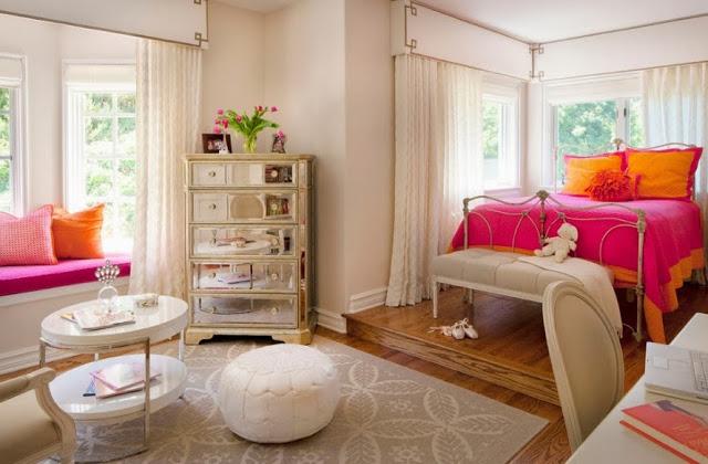 Шикарный комод в интерьере спальни