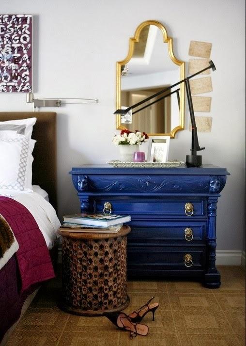 Бесподобный комод в интерьере спальни