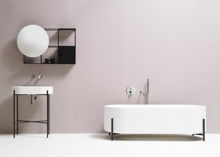 Современная ванна от Norm Architects