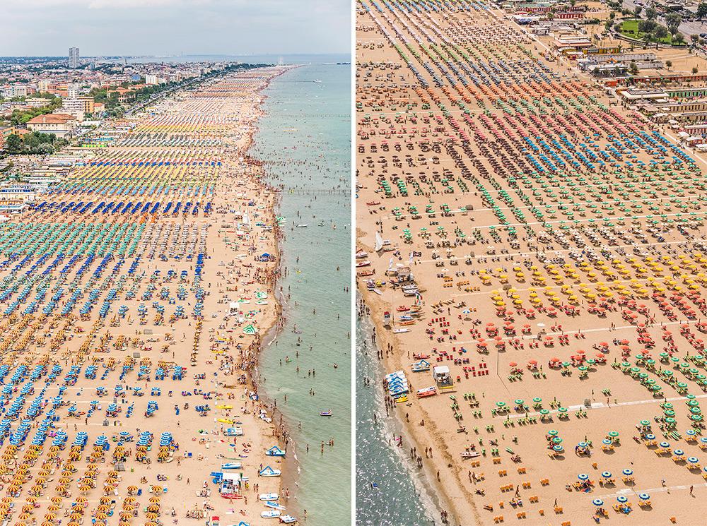 Чудесная фотография пляжа с верху от Bernhard Lang