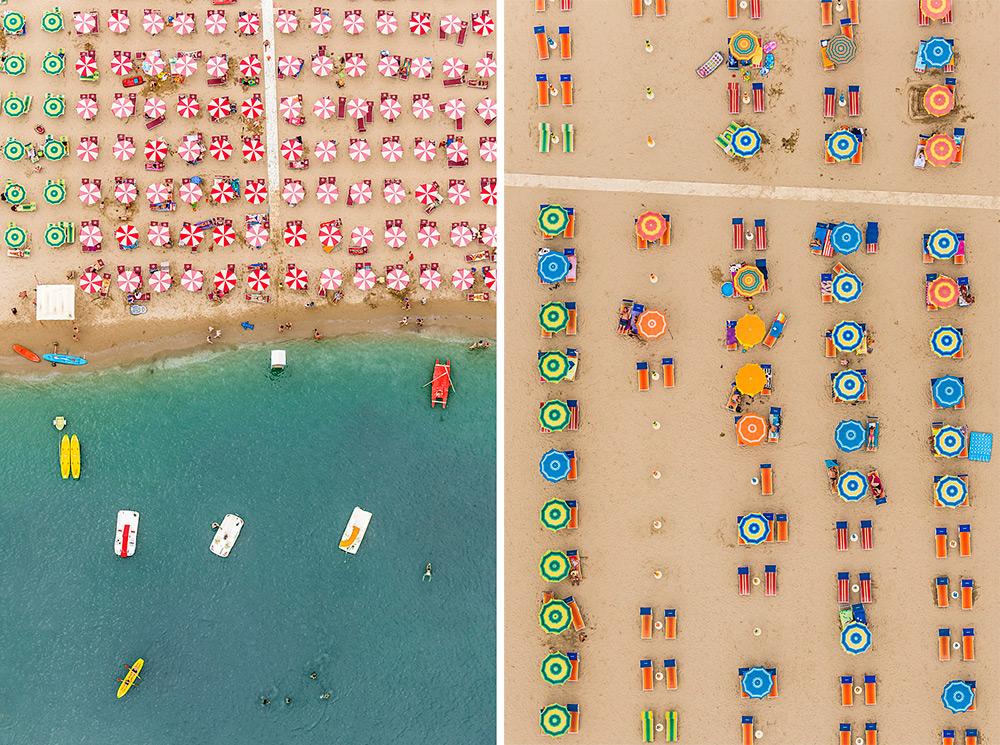 Бесподобная фотография пляжа с верху от Bernhard Lang