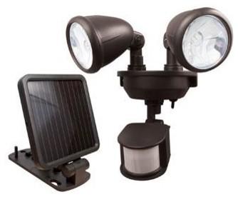 Прожектор на солнечных батареях