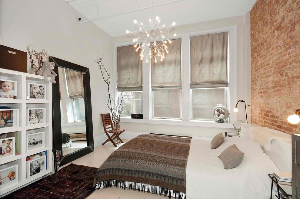 Пленительная подвесная люстра в интерьере спальни от kimberly peck architect