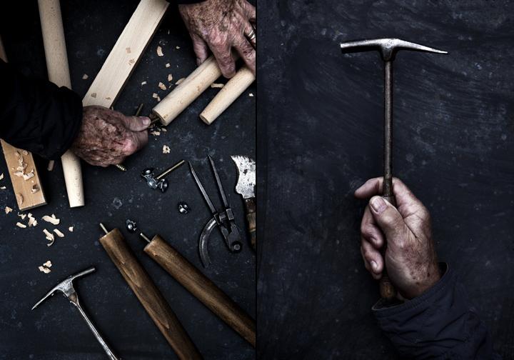 Инструменты для создания табурета и стула от HANSEN