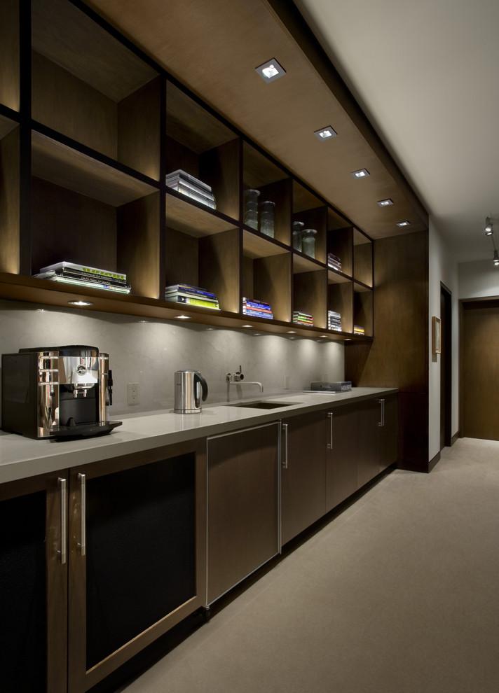Потолочные светильники в интерьере кухни<br />